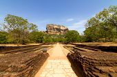 Sigiriya Lion's Rock Fortress In Sri-lanka