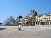 Paris, Louvre Courtyard