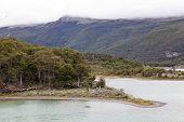 Paisaje del Parque Nacional de tierra Del Fuego