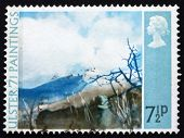 Postage stamp GB 1971 Deer's Meadow, by Thomas Carr