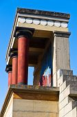 North entrance to the Palace of Knossos