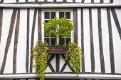 Rouen - Exterior Of Ancient House
