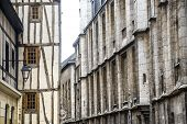 Rouen - Exterior Of Ancient Houses