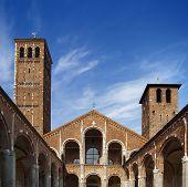 Basilica Of Saint Ambrose (sant'ambrogio) Milan - Italy