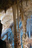 foto of carlsbad caverns  - Stalactite stalagmite cavern - JPG