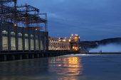 Conowingo Dam At Night