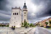 St. Anthony church, Spisska Bela town in northern Slovakia