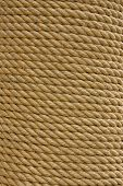 Roll Of Marine Rope - Background