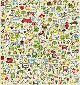 XXL-Doodle Icons Set Nr. 3