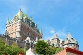 Chateau Frontenac Hotel In Quebec City, Canada