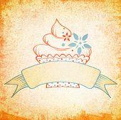 Cake Vintage Design