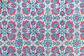 Fragment Of Retro Tapestry Textile Fabric