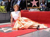 LOS ANGELES - JUN 19:  Jennifer Lopez arrives to the Walk of Fame Honors Jennifer Lopez  on June 19,