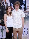 LOS ANGELES - JUN 22:  Emma Roberts & Evan Peters arrives to the 'The Lone Ranger' Hollywood Premier