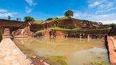 Pool At Sigiriya Rock Temple