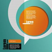 cover template. brochure design