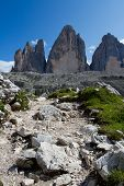 Dolomiten, Italien - Tre Cime di Lavaredo