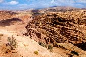 Desert in Petra, Jordan