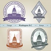 Vintage Stempel Washington Dc
