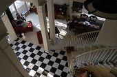 Checkered Foyer
