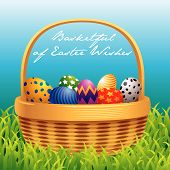 Easter Basket Greeting Card