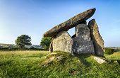 Trevethy Quoit A Portal Dolmen In Cornwall