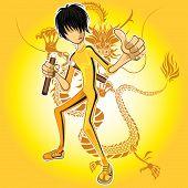 Maestro de Kung Fu