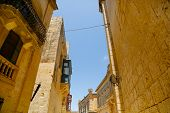 Historic Architecture In Mdina.