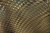 Cabot Circus Roof In Bristol close up of ceiling