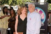 Rene Russo and Richard Donner  at ceremony honoring Lauren Shuler Donner and Richard Donner with Dou