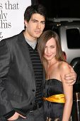 Brandon Routh and Courtney Ford  at the Los Angeles Premiere of 'Zack and Miri make a porno'. Grauma