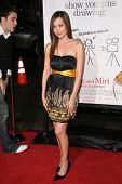 Courtney Ford  at the Los Angeles Premiere of 'Zack and Miri make a porno'. Grauman's Chinese Theate