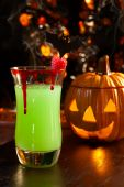 Bebidas de Halloween - Vampire Kiss cóctel