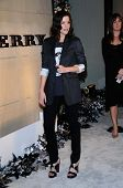Liv Tyler  at the Burberry Beverly Hills Store Re-Opening. Burberry Beverly Hills Store, Beverly Hills, CA. 10-20-08