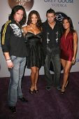 Steve Morrison and Eva Torres with The Miz and Lena Yada  at the 2008 Breeders' Cup Winners Circle G