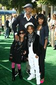 Will Smith and Jada Pinkett Smith with their children Willow and Jaden  at the Los Angeles Premiere of 'Madagascar Escape 2 Africa'. Mann Village Theatre, Westwood, CA. 10-26-08