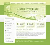 Green Nature Eco Web Template