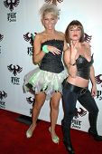 Kim Johnson and Kelly Monaco  at the Pur Jeans Halloween Bash. STK, Los Angeles, CA. 10-31-08