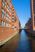 Channel in the Speicherstadt