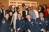 USO Celebrities  at the Annual 'Keeping the Promise To our Vietnam Heroes' Breakfast Honoring Veterans. Sheraton Gateway LAX, Los Angeles, CA. 11-07-08