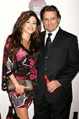 Leyla Milani and Damian Chapa  at a Special Screening of 'Quantum of Solace'. Sony Pictures, Culver City, CA. 11-13-08