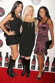 Jessie Camacho with Gloria Kisel and Zee James  at a Special Screening of 'Quantum of Solace'. Sony Pictures, Culver City, CA. 11-13-08