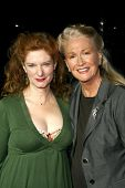 Lisa Pelikan and Diane Ladd  at the Los Angeles Premiere of 'Doubt'. AMPAS, Beverly Hills, CA. 11-18