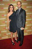 Sasha Alexander and Edoardo Ponti  at CNN Heroes An All-Star Tribute. Kodak Theatre, Hollywood, CA. 11-22-08