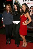 Erin Cummings and Julia Voth with America Olivo   at the Los Angeles Premiere of 'Nothing Like The Holidays'. Grauman's Chinese Theater, Hollywood, CA. 12-03-08