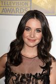 Alison Brie at the Second Annual Critics' Choice Television Awards, Beverly Hilton, Beverly Hills, CA 06-18-12