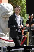 Gary Oldman at the Christopher Nolan Hand and Footprint Ceremony, Chinese Theater, Hollywood, CA 07-07-12