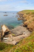 Lizard Point, Cornwall, Uk