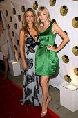 Molly Sims and Leslie Bibb  at the 5th Annual Friends of El Faro Benefit to raise funds for the chil