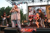 Jorge Garcia with Hayden Panettiere and Bob Guiney  at 'Band From TV' Presented by Netflix Live. The